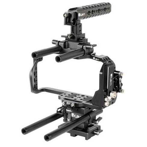 Ikan Stratus Complete Cage for the Blackmagic Pocket Cinema Camera 6K and 4K - image 1 of 4