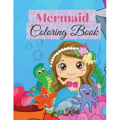 Mermaid Coloring Book for Kids - by  Patricia Robbins (Paperback)
