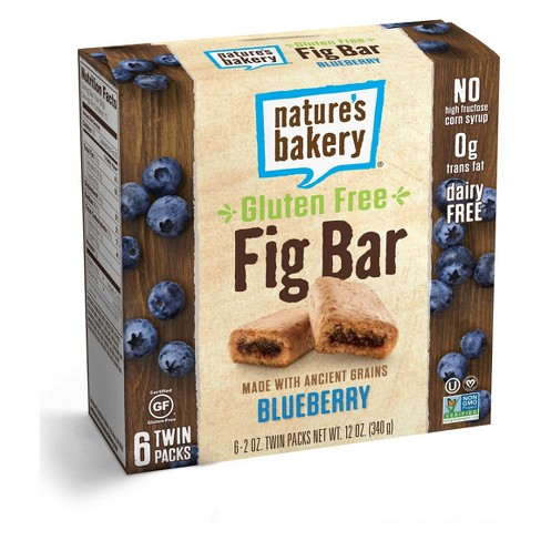Nature's Bakery Blueberry Gluten Free Fig Bar - 12oz - image 1 of 1