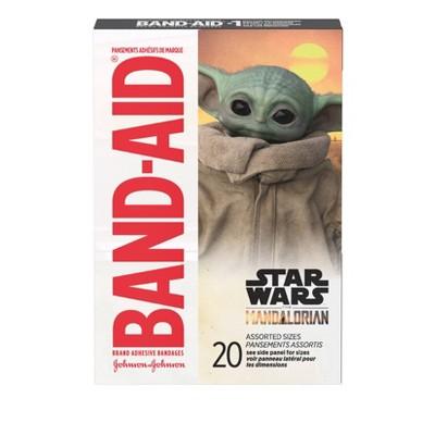 Band-Aid Mandalorian Adhesive Bandages - 20ct
