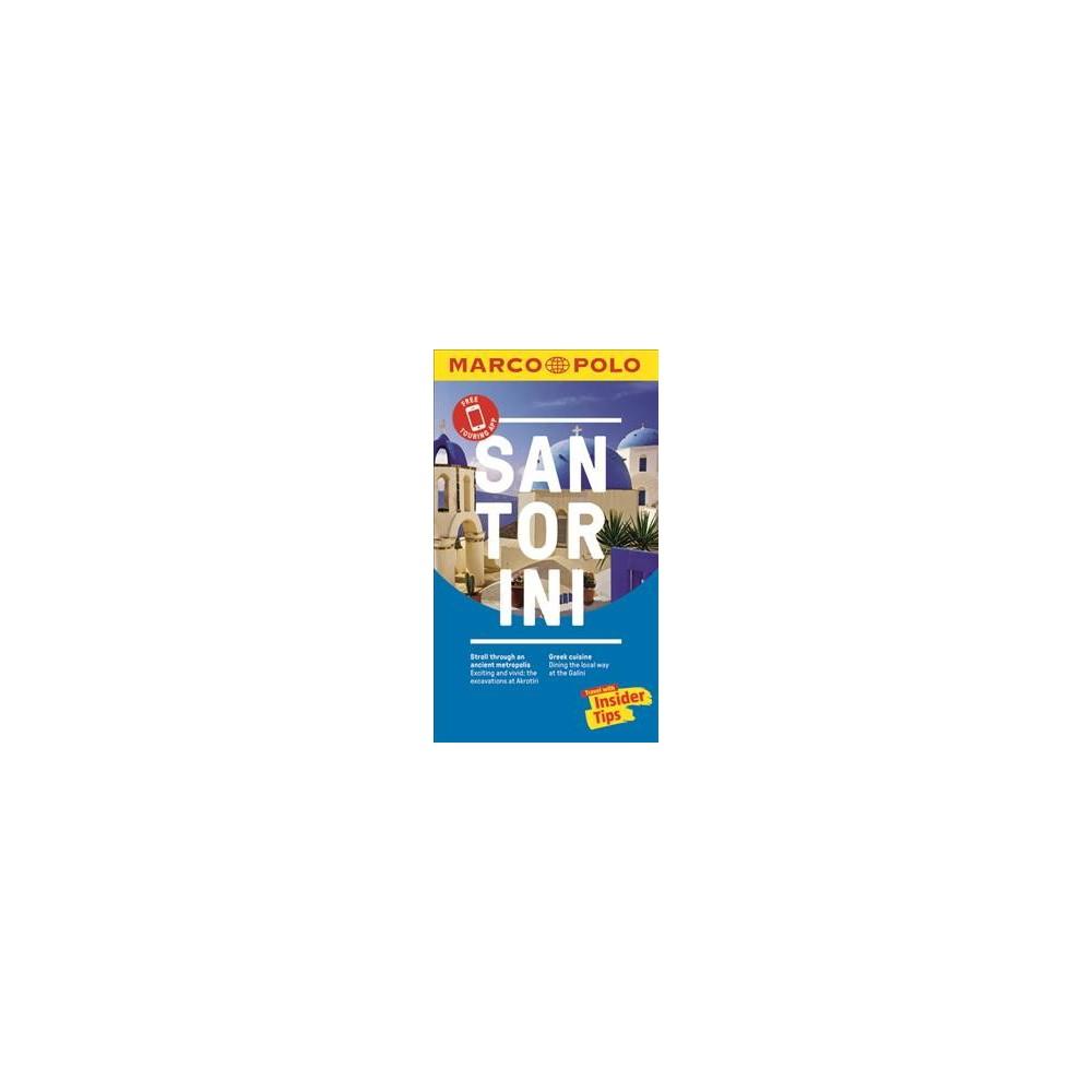 Marco Polo Santorini - 1 Pap/Map (Marco Polo Santorini (Travel Guide)) (Paperback)