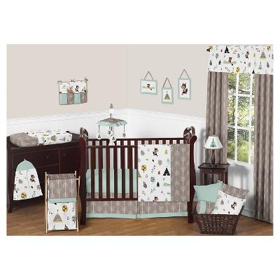 Sweet Jojo Designs Outdoor Adventure 11pc Crib Bedding Set