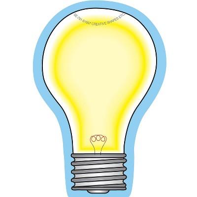 """Creative Shapes 3"""" x 3"""" Mini Notepad Light Bulb SE-791"""