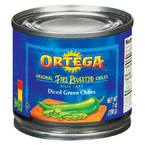 Ortega&#174 Fire Roasted Diced Green Chiles 7 oz - image 1 of 1