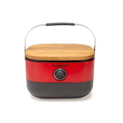 Cuisinart 1-Burner Venture Portable Gas Grill CGG-750 Red