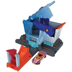 Hot Wheels City T-Rex Grocery Attack Playset