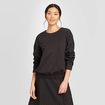 Women's Long Sleeve Crewneck Blouse - Prologue™