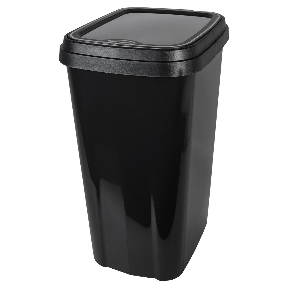 Image of Hefty 13 Gallon Odor Block Waste - Black
