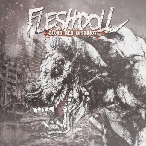Fleshdoll - Blood Red District (CD) - image 1 of 1
