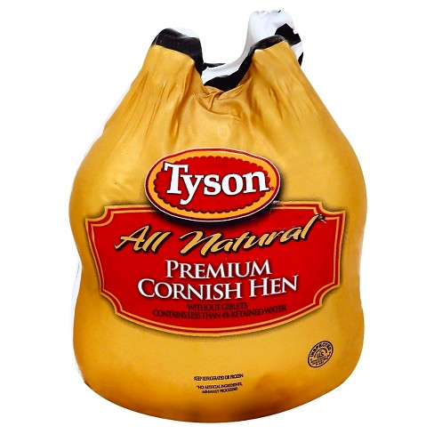 Tyson All Natural Premium Cornish Hen -24oz - image 1 of 1