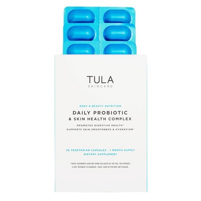 TULA Skincare Daily Probiotic & Skin Health Complex Dietary Supplement- 30ct - Ulta Beauty