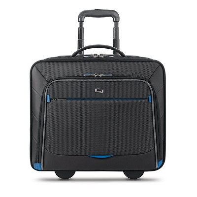 "Solo New York Active Tech 16"" Laptop Rolling Suitcase - Black"