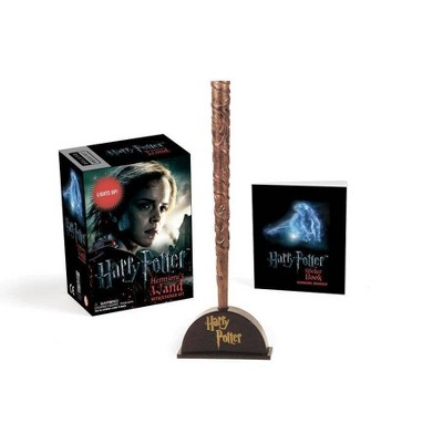 Harry Potter Hermione's Wand with Sticker Kit - (Rp Minis) (Paperback)