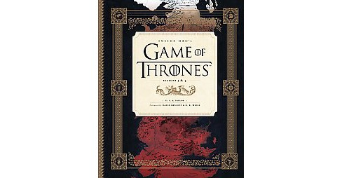 Inside HBO's Game of Thrones : Season 3 and 4 (Hardcover) (C. A. Taylor) - image 1 of 1