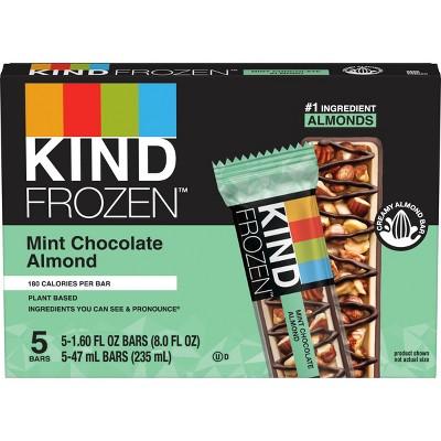 Kind Frozen Dark Chocolate Mint Bar -5ct