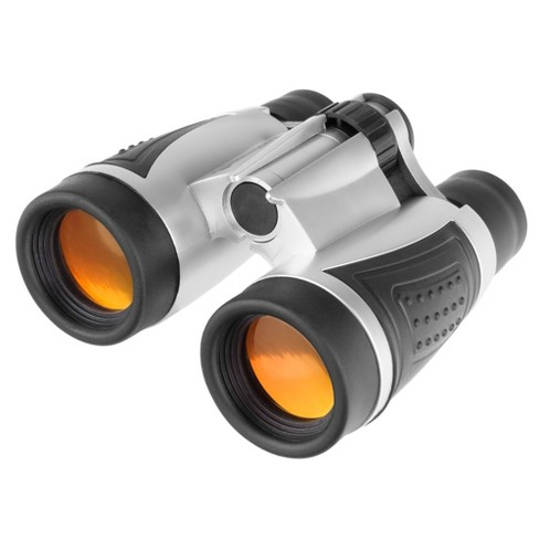 Wakeman 5X30 Binoculars Portable Compact Adjustable Focus For Sport And Field - Silver - image 1 of 4