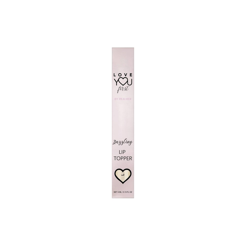 Image of Love YOU First By REALHER Dazzling Champagne Gloss Topper - 0.13 fl oz