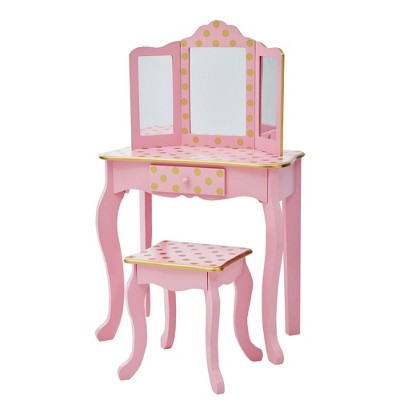 Fashion Polka Dot Gisele Play Vanity Set - Teamson Kids