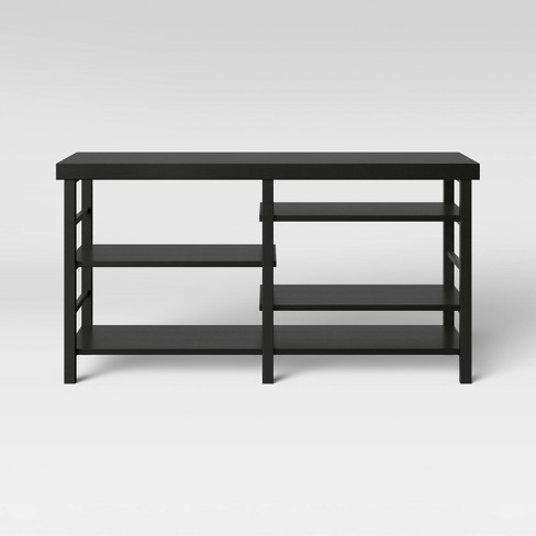 Adjustable Storage Media Stand Espresso Brown - Room Essentials™ - image 1 of 3