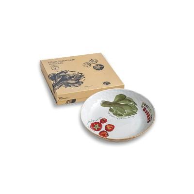 32oz Porcelain Farm To Table Artichoke Serving Bowl - Rosanna