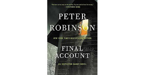 Final Account (Reissue) (Paperback) (Peter Robinson) - image 1 of 1