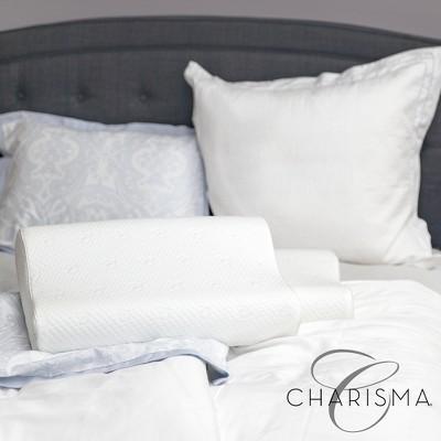 Charisma Luxury Contour Gel-Infused Oversized Memory Foam Pillow