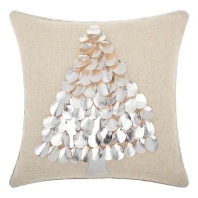 Silver Tree Throw Pillow - Mina Victory