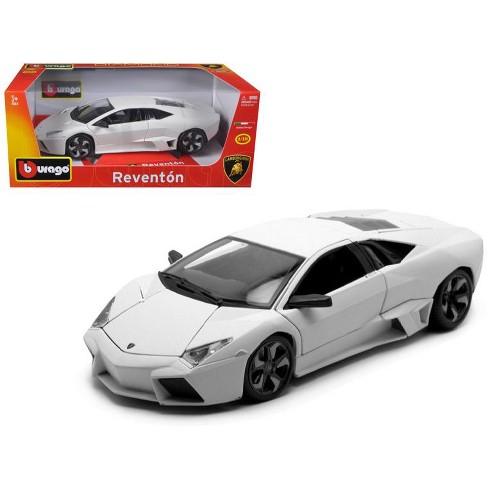 Lamborghini Reventon Matt White 1 18 Diecast Model Car By Bburago