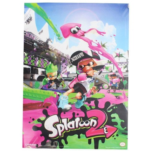 """Nerd Block Splatoon 2 10""""x14"""" Poster - image 1 of 1"""