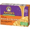 Annie's Homegrown Creamy Deluxe Macaroni Dinner Shells & Real Aged Cheddar Sauce 11oz - image 3 of 4