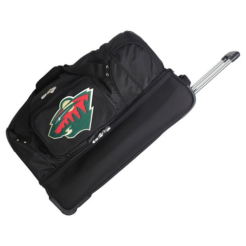 "NHL Minnesota Wild Mojo 27"" Rolling Drop Bottom Duffel Bag - image 1 of 2"