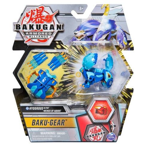 """Bakugan Ultra Hydorous with Transforming Baku-Gear Armored Alliance Collectible Action Figure 3"""" - image 1 of 4"""