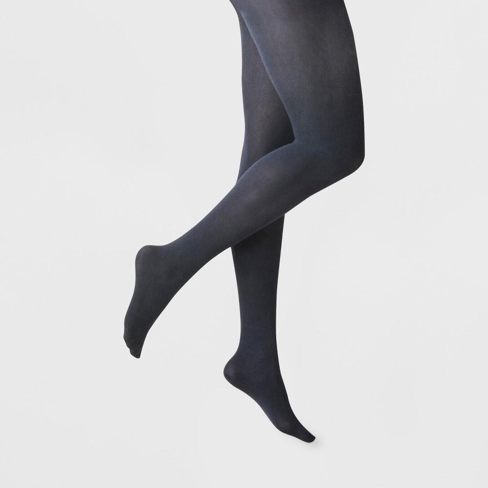 Women's 50D Opaque CT - A New Day Navy S/M, Blue
