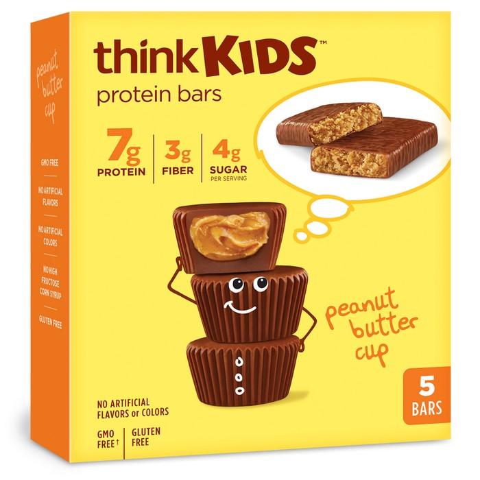 think! Kids Peanut Butter Bars - 5oz - image 1 of 2