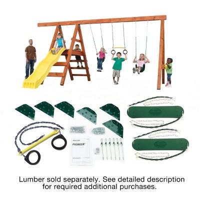 Swing-N-Slide Pioneer Custom DIY Playset Hardware Kit (lumber not included)