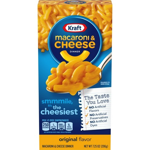 Kraft Macaroni & Cheese Dinner Original - 7.25oz - image 1 of 4