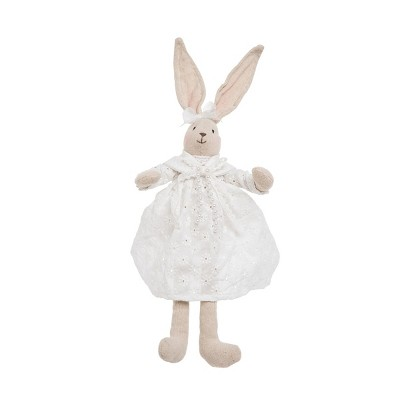 Gallerie II Eyelet Lace Bunny Rabbit Figurine Decor Decoration Figurine Decor Decoration Spring Easter