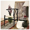 Wishbone Wood Y Chair Black Wood - Baxton Studio - image 2 of 4