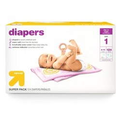 Diapers - Up&Up™ - (Select Size and Count)
