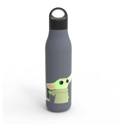 Star Wars 22oz Stainless Steel Mandalorian Baby Yoda Chug Bottle Blue - Zak Designs