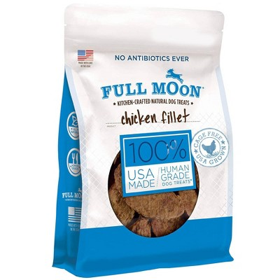 Full Moon Chicken Fillet Chewy Jerky Dog Treats - 48oz