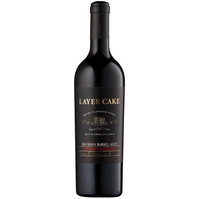 Layer Cake Bourbon Barrel-Aged Cabernet Sauvignon Red Wine - 750ml Bottle