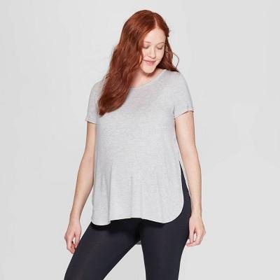 Women's Beautifully Soft Nursing Sleep T-Shirt - Stars Above™ Gray S