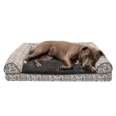 FurHaven Southwest Kilim Orthopedic Sofa Dog Bed