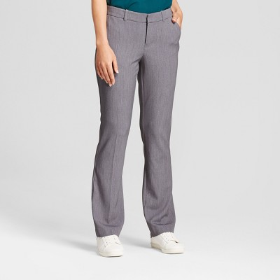 Women's Bootcut Bi-Stretch Twill Pants - A New Day™