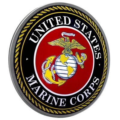 Marine Corp Logo Framed Mirror