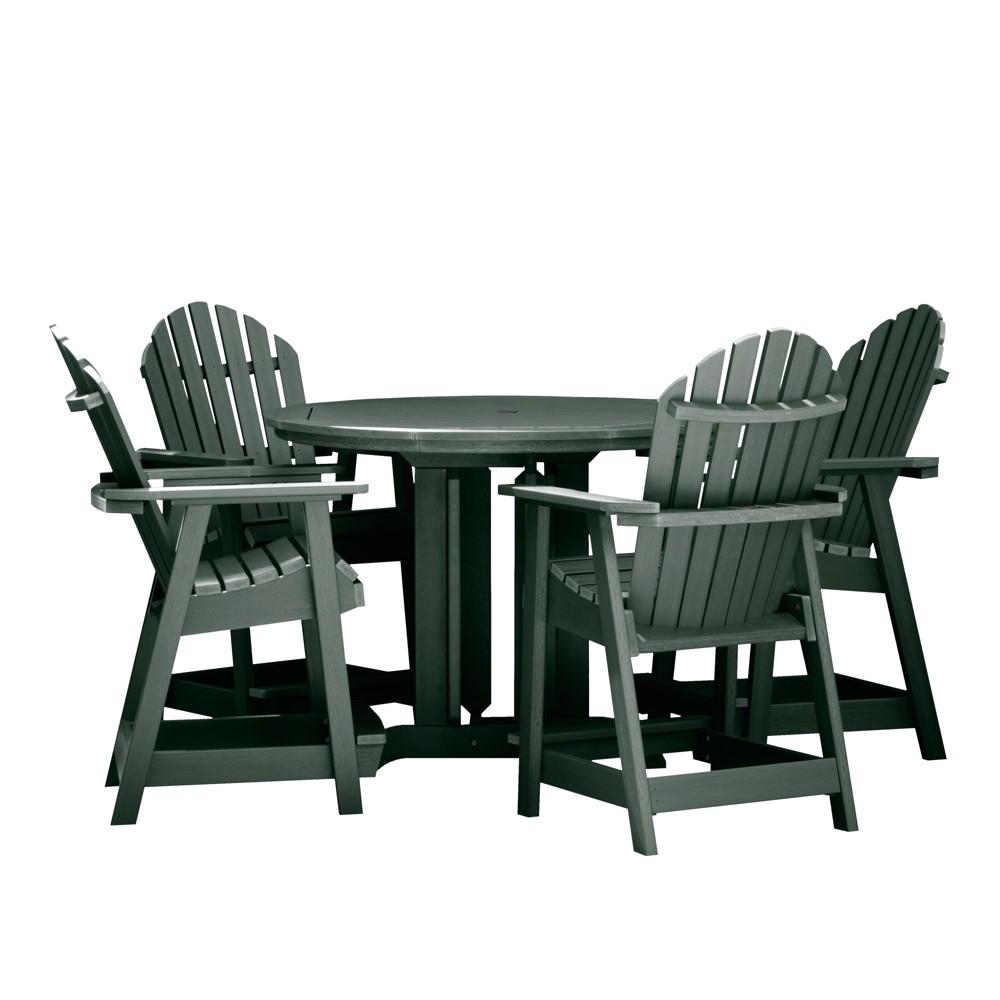 Hamilton 5pc Round Counter Dining Set Charleston Green - Highwood