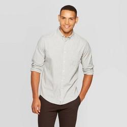 Men's Standard Fit Long Sleeve Button-Down Shirt - Goodfellow & Co™