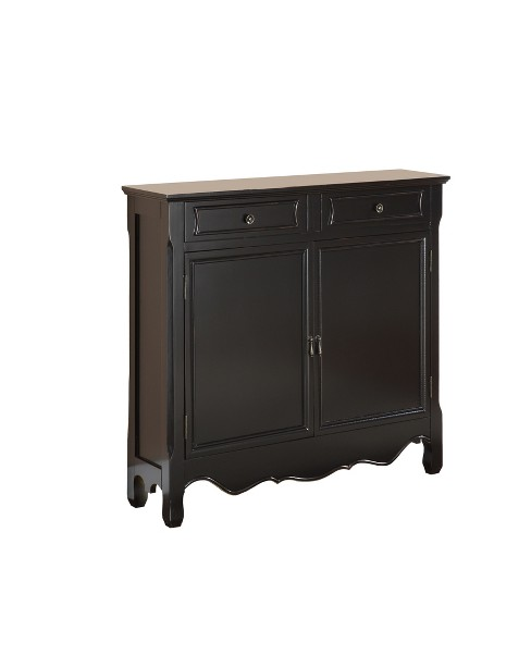 Leith 2Door Console Black - Powell Company - image 1 of 13
