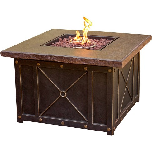 """Cambridge Classic 40"""" Gas Fire Pit with Durastone Top - Cambridge - image 1 of 4"""